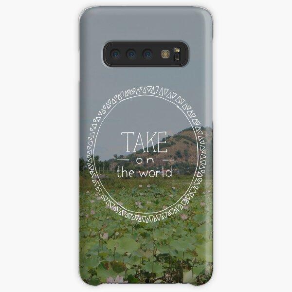 Take on the World Samsung Galaxy Snap Case