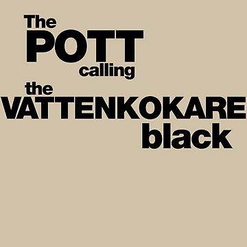 The Pot calling the Kettle Black - black by BadChicken