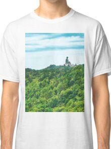 Buddha on Mountain Classic T-Shirt