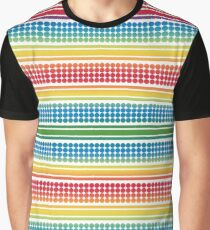 Background of seamless dots pattern Graphic T-Shirt