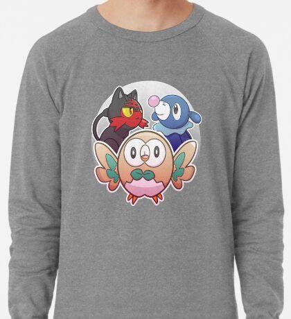 Rowlet, Litten, and Popplio Lightweight Sweatshirt