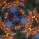 Fractal Fire Dances n°2 by edend