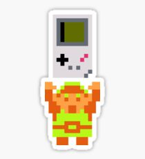 Link + Game Boy Sticker