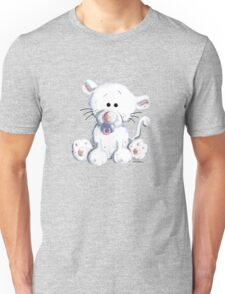 Baby Cat With Pacifier Unisex T-Shirt
