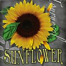 Sunflowers Rain and Shine  by one8edegre