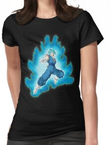 Vegetto Super Saiyan Blue Womens Fitted T-Shirt