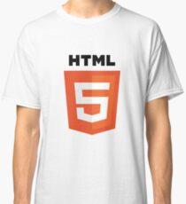HTML5 logo Classic T-Shirt