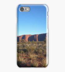 Uluru in its splendor iPhone Case/Skin