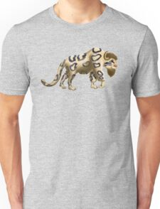 Bison clouded leapoard Unisex T-Shirt
