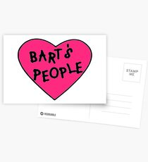 Bart's People Postcards