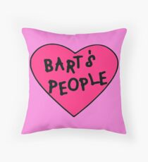 Bart's People Throw Pillow
