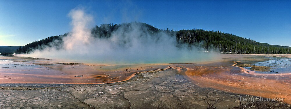 Prismatic Spring by Terry Shumaker