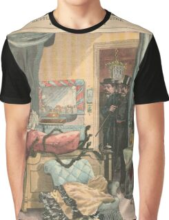 Arrest of a Snake Charmer France 1900 Graphic T-Shirt