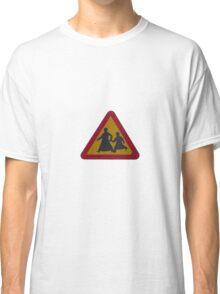 School crossing Classic T-Shirt