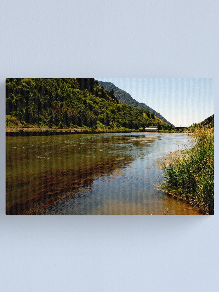 Alternate view of Dam on the Weber River Canvas Print