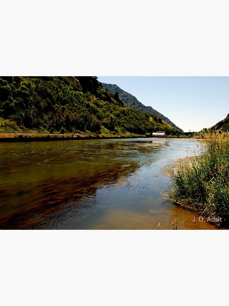 Dam on the Weber River by adsitprojectpro