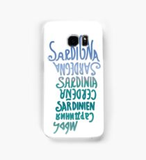 Sardegna, Languages Samsung Galaxy Case/Skin
