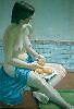 La Fille aved L'Orange by ralphvog