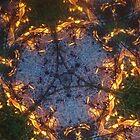 Fractal Fire Dances n°1 by edend