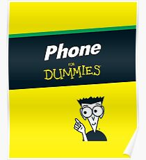 Phone for Dummies Poster