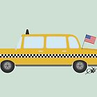 New York Taxi by justleiva
