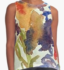 Abstract of Irises Contrast Tank