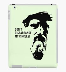 Pythagoras Quote iPad Case/Skin