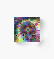 The Beauty of Colour Acrylic Block