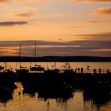 Ballycotton Co Cork at Sunset by webdoctor