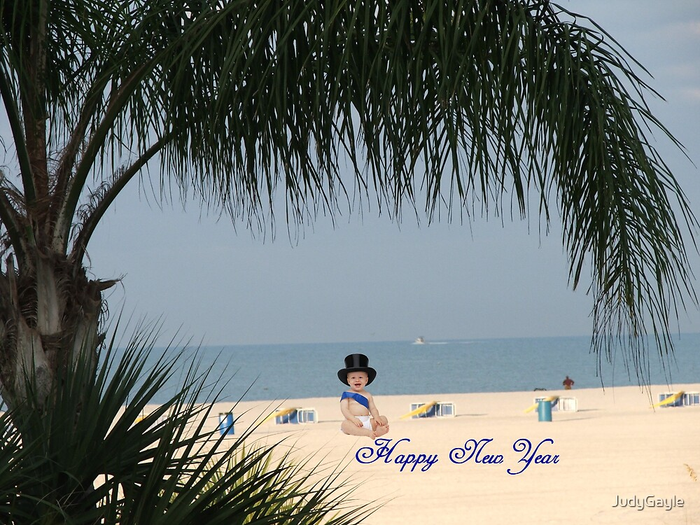 Happy New Year Baby by Judy Gayle Waller