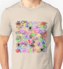 Vintage Passport Stamps  Unisex T-Shirt