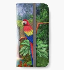 MACAW TROPICAL PARROTS iPhone Wallet/Case/Skin