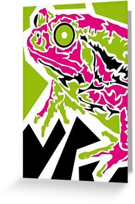 Frog von Ray Rubeque