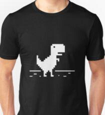 Jurassic Park Chrome Dinosaur T-Shirt