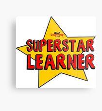Superstar Learner Metal Print