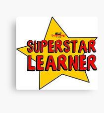 Superstar Learner Canvas Print