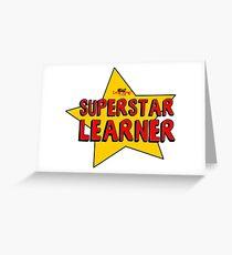 Superstar Learner Greeting Card