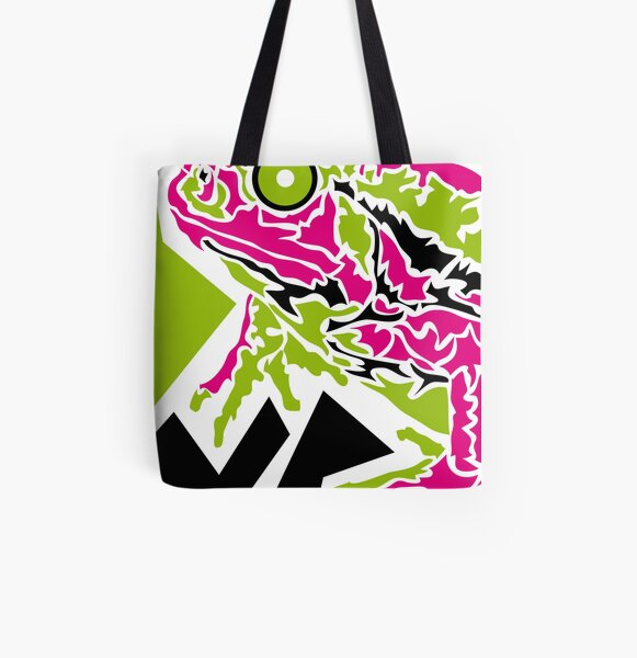 Frog Allover-Print Tote Bag