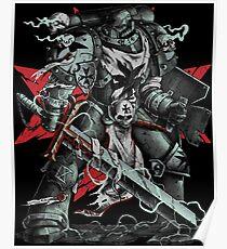 Black Templars Poster