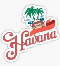 Havana Sticker