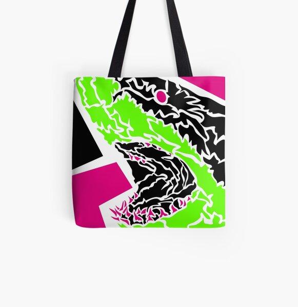 Shark Allover-Print Tote Bag