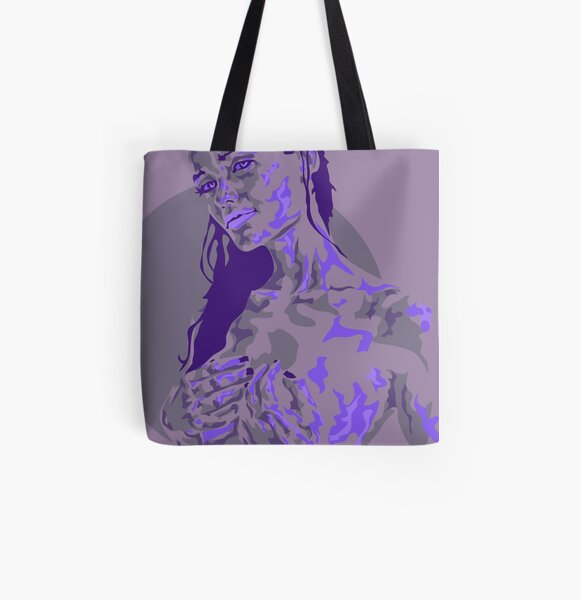 Protection Allover-Print Tote Bag