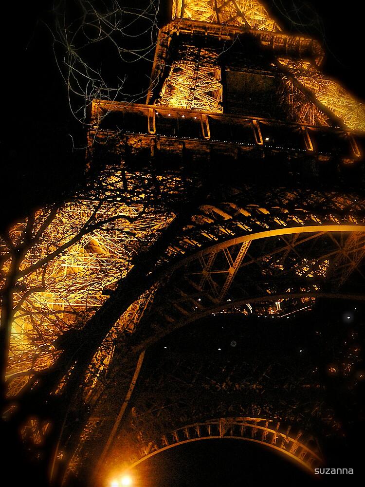 Eiffel Fire by suzanna