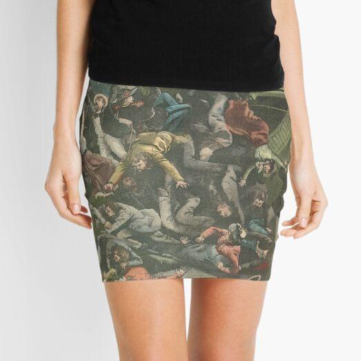 Bridge collapse Paris exhibition 1900 Mini Skirt