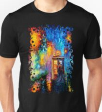Mysterious Man at beautiful Rainbow Place Unisex T-Shirt