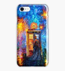 Mysterious Man at beautiful Rainbow Place iPhone Case/Skin