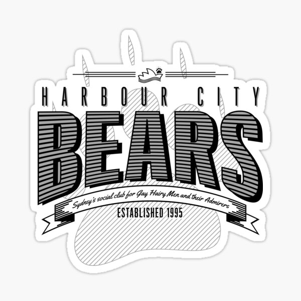 HCB Bar-bear-shop Sticker