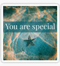 You are special - Affirmation Sticker