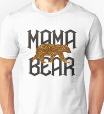 Gold Mama Bear for Mother's day T-Shirt