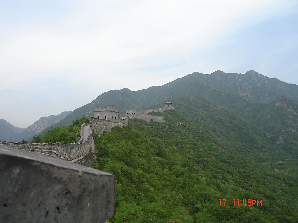 Great Wall of China by nickwisner